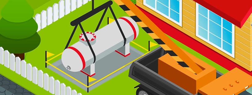 Installation citerne de gaz